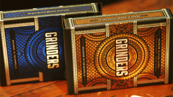 Copper Grinders Playing Cards by Midnight Cards