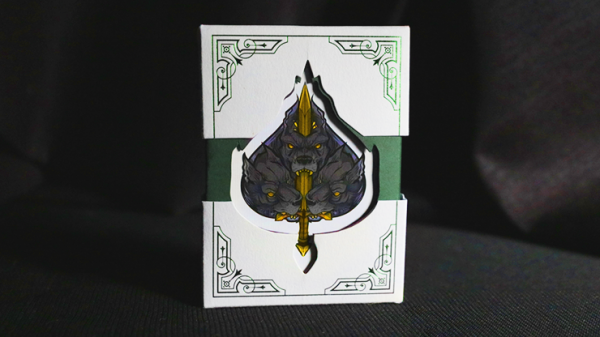 Deluxe Limited Edition Theos Playing Cards (Green)
