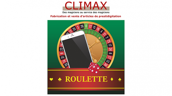 ROULETTE by Magie Climax - Trick