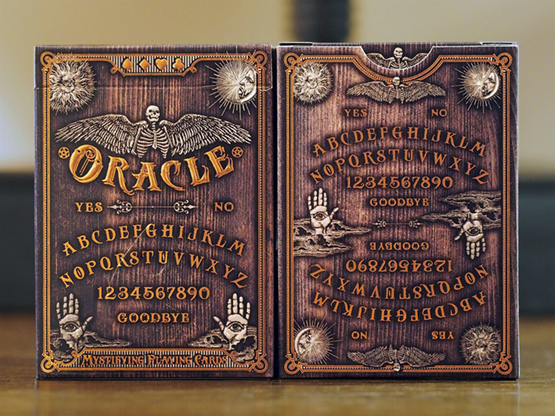 Oracle Playing Cards by Chris Ovdiyenko