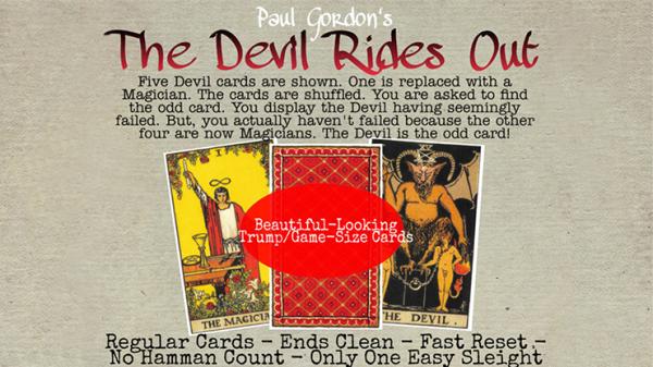 The Devil Rides Out by Paul Gordon - Trick