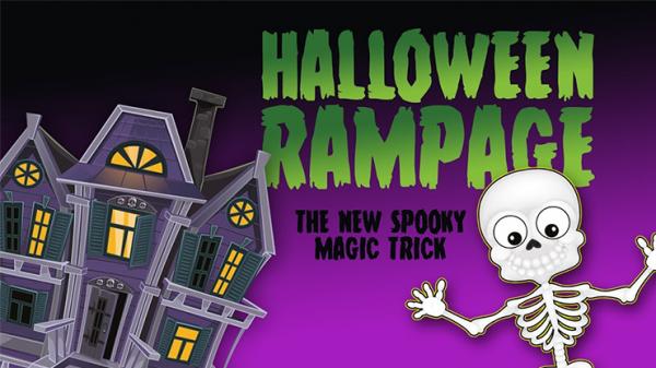 Halloween Rampage by Razamatazz Magic - Trick