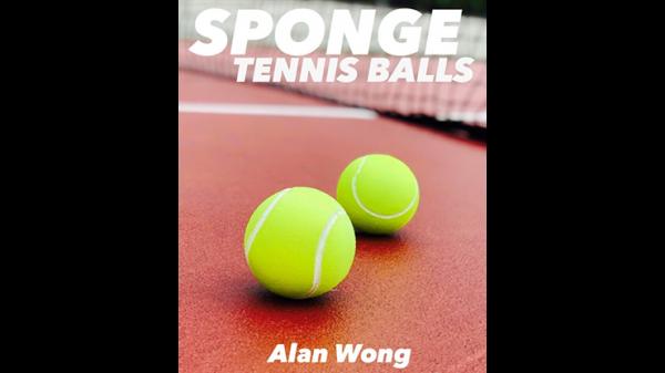 Sponge Tennis Balls (3 pk.) by Alan Wong - Trick