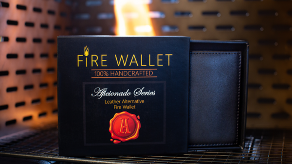 The Aficionado Fire Wallet (Gimmick and Online Instructions) by Murphy's Magic Supplies Inc.