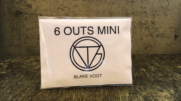 Six Outs Mini (Gimmicks and Online Instructions) by Blake Vogt - Trick