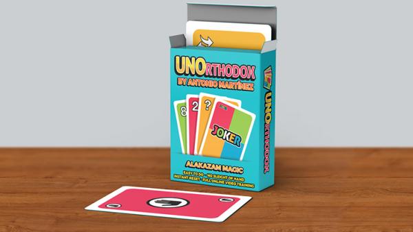 UNOrthodox (Gimmicks and Online Instructions) by Antonio Martinez - Trick