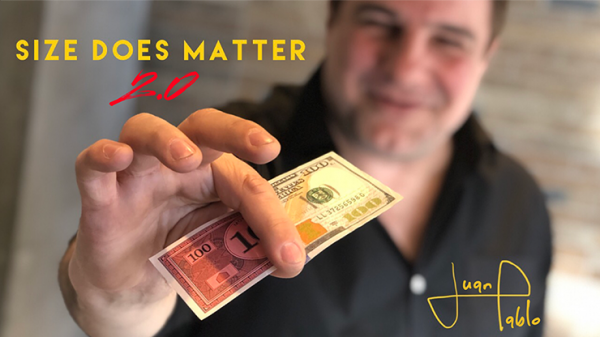Size Does Matter 2.0 (Gimmicks and Online Instructions) by Juan Pablo Magic