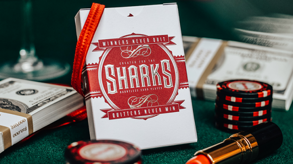 <img class='new_mark_img1' src='https://img.shop-pro.jp/img/new/icons5.gif' style='border:none;display:inline;margin:0px;padding:0px;width:auto;' />DMC Shark V2 Playing Cards
