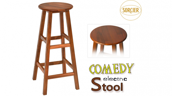 <img class='new_mark_img1' src='https://img.shop-pro.jp/img/new/icons15.gif' style='border:none;display:inline;margin:0px;padding:0px;width:auto;' />Comedy Electric Stool (Wood) by Sorcier Magic - Trick