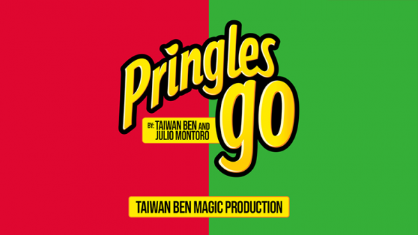 <img class='new_mark_img1' src='https://img.shop-pro.jp/img/new/icons14.gif' style='border:none;display:inline;margin:0px;padding:0px;width:auto;' />Pringles Go (Green to Yellow) by Taiwan Ben and Julio Montoro - Trick