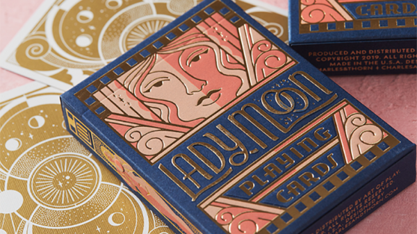 Orange Bump Neon Playing Cards by US Playing Card Co