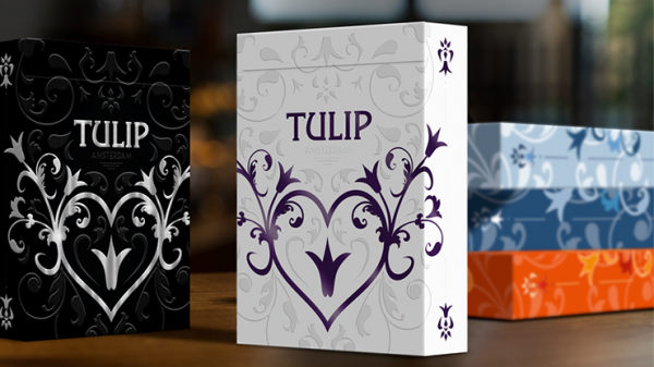 <img class='new_mark_img1' src='https://img.shop-pro.jp/img/new/icons7.gif' style='border:none;display:inline;margin:0px;padding:0px;width:auto;' />Purple Tulip Playing Cards Dutch Card House Company