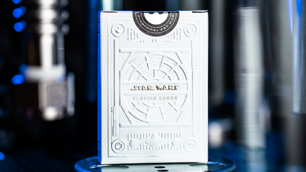 <img class='new_mark_img1' src='https://img.shop-pro.jp/img/new/icons6.gif' style='border:none;display:inline;margin:0px;padding:0px;width:auto;' />Star Wars Light Side Silver Edition Playing Cards (White) by theory11