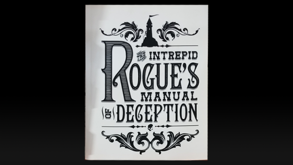 <img class='new_mark_img1' src='https://img.shop-pro.jp/img/new/icons12.gif' style='border:none;display:inline;margin:0px;padding:0px;width:auto;' />The Intrepid Rogue's Manual Of Deception (soft cover) by Atlas Brookings - Trick