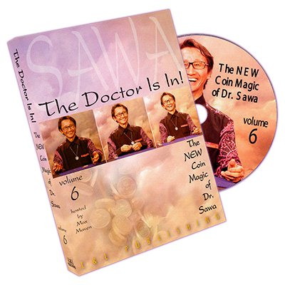 The Doctor Is In - The New Coin Magic of Dr. Sawa Vol 6 - DVD