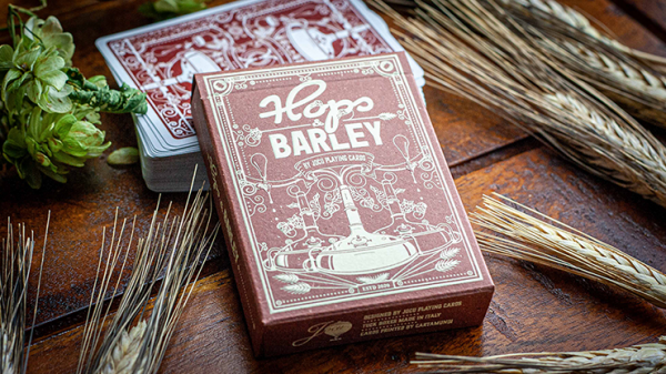 <img class='new_mark_img1' src='https://img.shop-pro.jp/img/new/icons7.gif' style='border:none;display:inline;margin:0px;padding:0px;width:auto;' />Hops & Barley (Deep Amber Ale) Playing Cards by JOCU Playing Cards