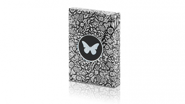 <img class='new_mark_img1' src='https://img.shop-pro.jp/img/new/icons9.gif' style='border:none;display:inline;margin:0px;padding:0px;width:auto;' />Limited Edition Butterfly Playing Cards (Black and White) by Ondrej Psenicka