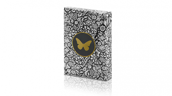 <img class='new_mark_img1' src='https://img.shop-pro.jp/img/new/icons9.gif' style='border:none;display:inline;margin:0px;padding:0px;width:auto;' />Limited Edition Butterfly Playing Cards (Black and Gold) by Ondrej Psenicka