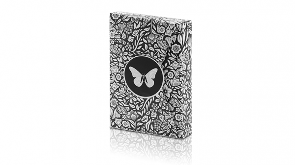 <img class='new_mark_img1' src='https://img.shop-pro.jp/img/new/icons9.gif' style='border:none;display:inline;margin:0px;padding:0px;width:auto;' />Limited Edition Butterfly Playing Cards Marked (Black and White) by Ondrej Psenicka