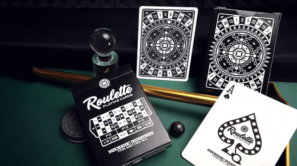<img class='new_mark_img1' src='https://img.shop-pro.jp/img/new/icons6.gif' style='border:none;display:inline;margin:0px;padding:0px;width:auto;' />Roulette Playing Cards by Mechanic Industries