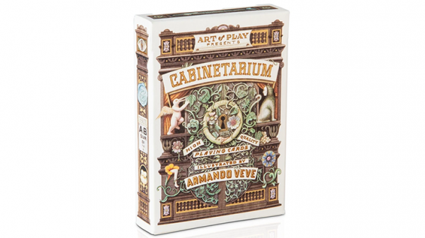 <img class='new_mark_img1' src='https://img.shop-pro.jp/img/new/icons7.gif' style='border:none;display:inline;margin:0px;padding:0px;width:auto;' />Cabinetarium Playing Cards by Art of Play