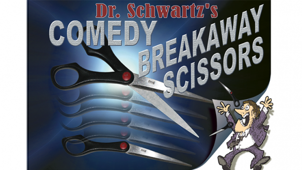 <img class='new_mark_img1' src='https://img.shop-pro.jp/img/new/icons2.gif' style='border:none;display:inline;margin:0px;padding:0px;width:auto;' />Comedy Breakaway Scissors by Martin Schwartz - Trick