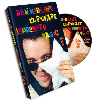 <img class='new_mark_img1' src='https://img.shop-pro.jp/img/new/icons11.gif' style='border:none;display:inline;margin:0px;padding:0px;width:auto;' />Ultimate Impromptu Magic  Vol 2 by Dan Harlan - DVD