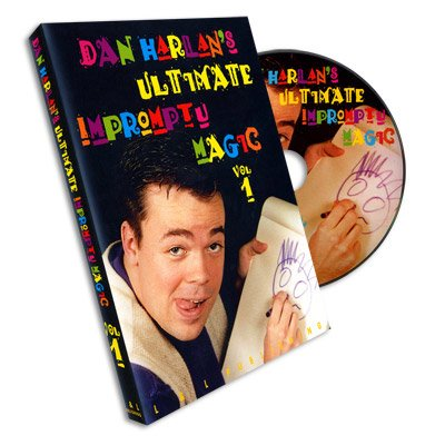 <img class='new_mark_img1' src='https://img.shop-pro.jp/img/new/icons11.gif' style='border:none;display:inline;margin:0px;padding:0px;width:auto;' />Ultimate Impromptu Magic Vol 1 by Dan Harlan - DVD