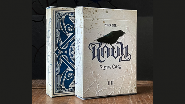 <img class='new_mark_img1' src='https://img.shop-pro.jp/img/new/icons6.gif' style='border:none;display:inline;margin:0px;padding:0px;width:auto;' />RAVN IIII (Blue) Playing Cards Designed by Stockholm17