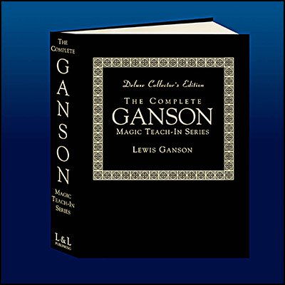 <img class='new_mark_img1' src='https://img.shop-pro.jp/img/new/icons12.gif' style='border:none;display:inline;margin:0px;padding:0px;width:auto;' />The Complete Ganson Teach-In Series Deluxe Edition by Lewis Ganson and L&L Publishing - Book