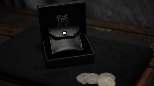 <img class='new_mark_img1' src='https://img.shop-pro.jp/img/new/icons13.gif' style='border:none;display:inline;margin:0px;padding:0px;width:auto;' />FPS Coin Wallet Black (Gimmicks and Online Instructions) by Magic Firm - Trick