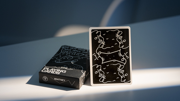 <img class='new_mark_img1' src='https://img.shop-pro.jp/img/new/icons6.gif' style='border:none;display:inline;margin:0px;padding:0px;width:auto;' />Shantell Martin (Black) Playing Cards by theory11