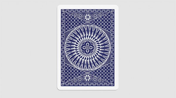 <img class='new_mark_img1' src='https://img.shop-pro.jp/img/new/icons2.gif' style='border:none;display:inline;margin:0px;padding:0px;width:auto;' />Tally Ho Circle Back Gaff Pack Blue (6 Cards) by The Hanrahan Gaff Company
