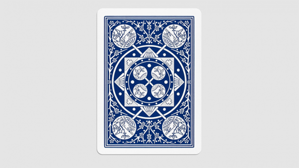 <img class='new_mark_img1' src='https://img.shop-pro.jp/img/new/icons2.gif' style='border:none;display:inline;margin:0px;padding:0px;width:auto;' />Tally Ho Fan Back Gaff Pack Blue (6 Cards) by The Hanrahan Gaff Company
