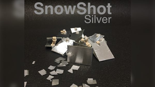 <img class='new_mark_img1' src='https://img.shop-pro.jp/img/new/icons13.gif' style='border:none;display:inline;margin:0px;padding:0px;width:auto;' />SnowShot SILVER (10 ct.) by Victor Voitko (Gimmick and Online Instructions) - Trick