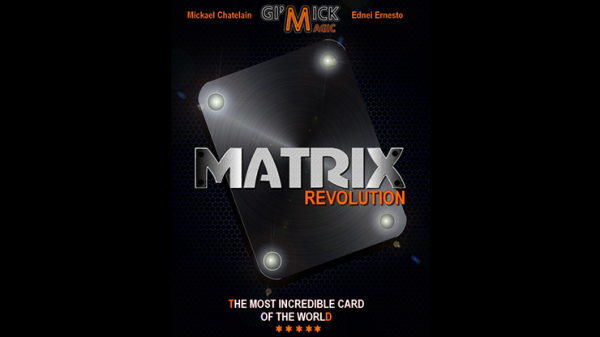 <img class='new_mark_img1' src='https://img.shop-pro.jp/img/new/icons2.gif' style='border:none;display:inline;margin:0px;padding:0px;width:auto;' />MATRIX REVOLUTION Blue by Mickael Chatelain  - Trick