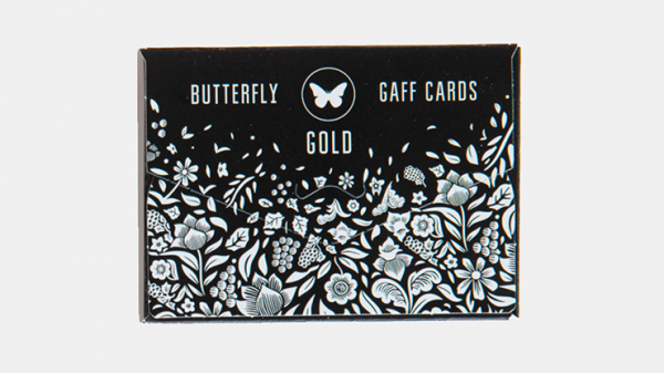 <img class='new_mark_img1' src='https://img.shop-pro.jp/img/new/icons13.gif' style='border:none;display:inline;margin:0px;padding:0px;width:auto;' />Gaff pack for Butterfly Playing Cards Marked (Black and Gold) by Ondrej Psenicka