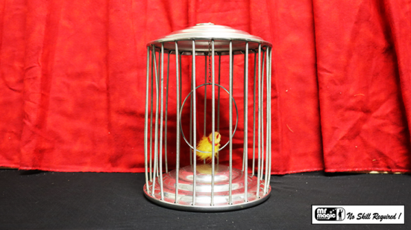 <img class='new_mark_img1' src='https://img.shop-pro.jp/img/new/icons13.gif' style='border:none;display:inline;margin:0px;padding:0px;width:auto;' />Spring Production Birdcage by Mr. Magic - Trick