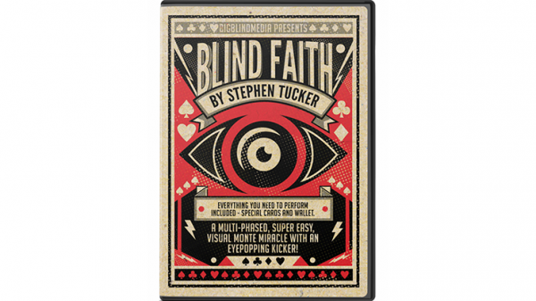 Bigblindmedia Presents Blind Faith (Gimmicks and Online Instructions) by Stephen Tucker