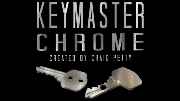 Keymaster Chrome (Gimmicks and Online Instructions) by Craig Petty - Trick