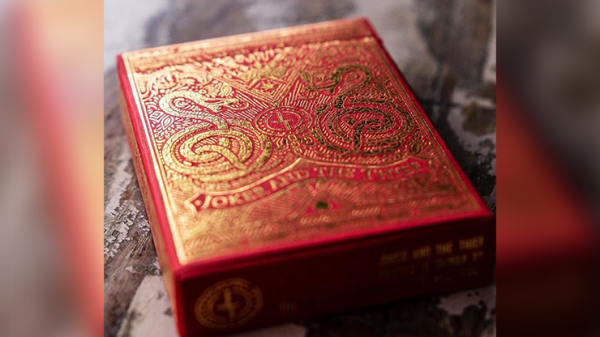 Blood Red Edition V3  Playing Cards by Joker and the Thief