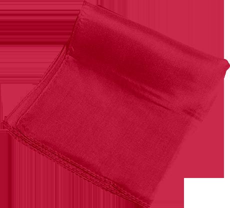 Silks 15 inch Single (Red) Magic by Gosh - Trick