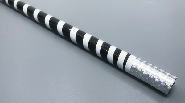 The Ultra Cane (Appearing / Metal) Black / White Stripe by Bond Lee - Trick
