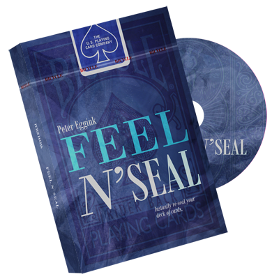 Feel N' Seal Blue (DVD and Gimmick) by Peter Eggink - DVD