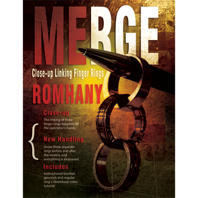 Merge (Gimmicks and Instruction) by Paul Romhany - Trick