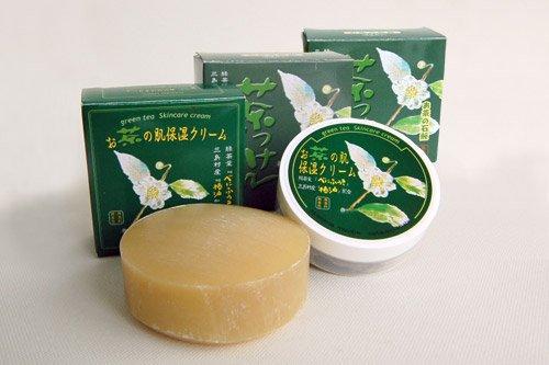 Hiグレード茶っけん+お茶の肌保湿クリ...
