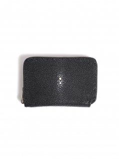 ミドルサイズ ラウンドファスナー 財布 <RAY>