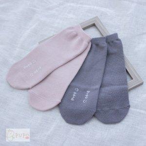 【メール便OK(02)】かかとが無いので長く使える!まっすぐ靴下 ハイソックス 10-14cm 日本製