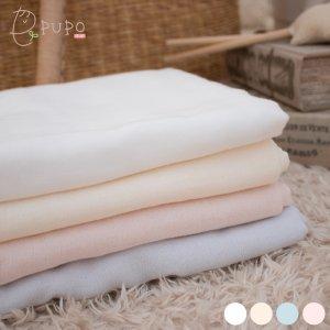 薄手だから乾きが早く、お洗濯もラクラク!お出かけにもコンパクトに持ち運べる表ガーゼ長方形タオル 70×120cm 日本製