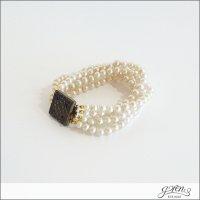 gren(グリン)5連スフレパールブレスレット souffle pearl BR SFL-05